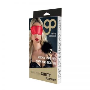 GP Velvet Soft Eye Mask And Tickler